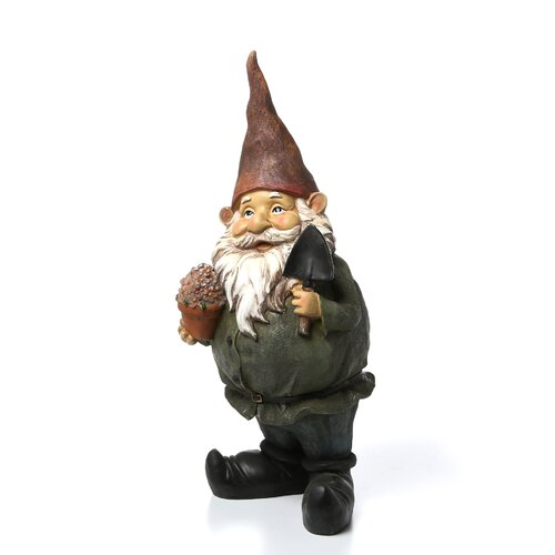 Design Toscano Dagobert with Gifts Garden Gnome Statue