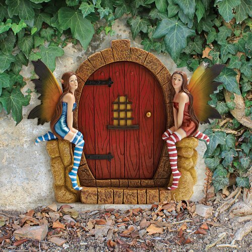 Design Toscano The Enchanted Portal Fairy Door Wall Statue ... - photo#35