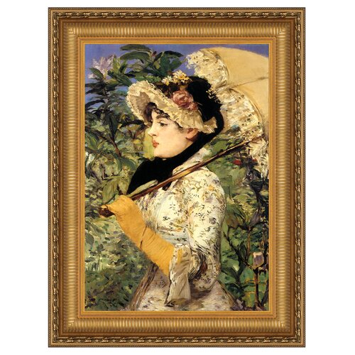 Jeanne: Spring, 1881 Framed Original Painting