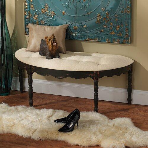 Marceau Half Crescent Bedroom Bench