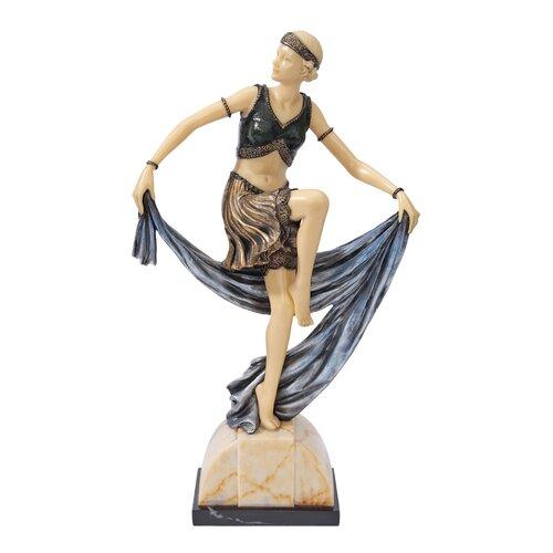 Flapper Follies Cabaret Girl Statue
