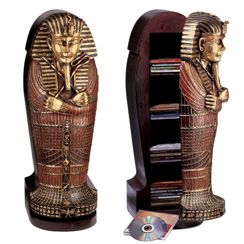Tutankhamen Sarcophagus Statue