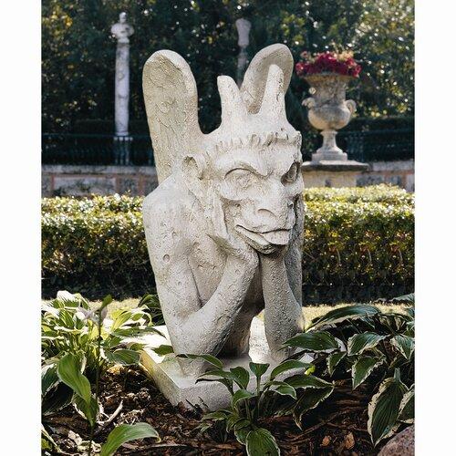 Spitting Gargoyle of Notre Dame Statue
