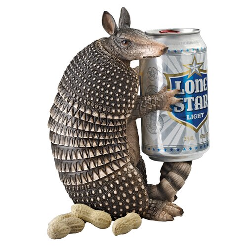 Tex the Armadillo Beverage Holder Figurine (Set of 2)