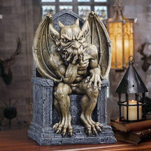 Hemlock's Gargoyle Throne Small Statue