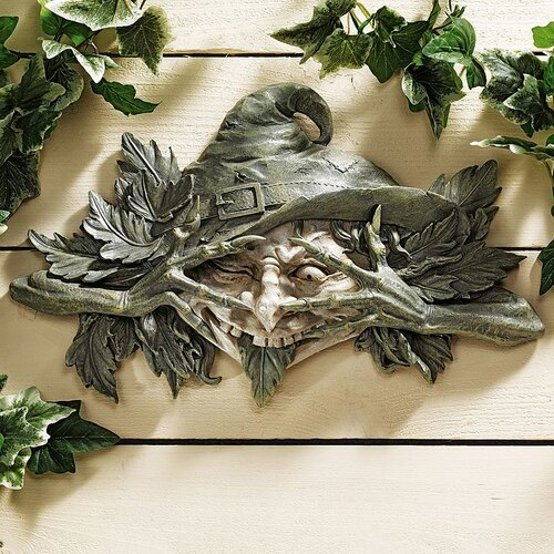 The Poison Ivy Forest Witch Greenman Wall Decor