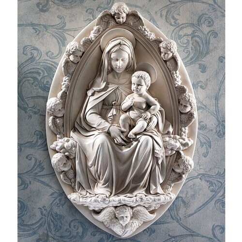 Design Toscano Madonna and Child Wall Décor
