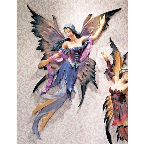 Design Toscano Fairies of the Enchanted Grove Rowan Wall Décor