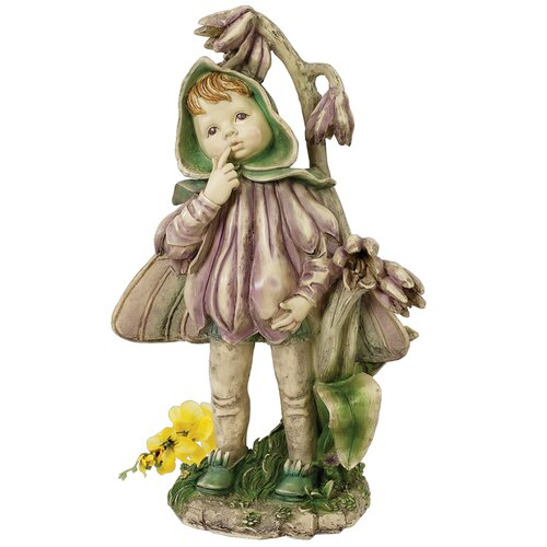 Design Toscano Ella the Littlest Flower Fairy Figurine