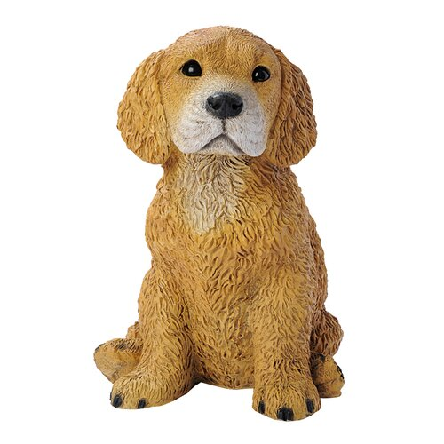 Design Toscano Retriever Puppy Dog Figurine