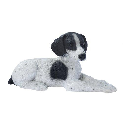 Design Toscano Pointer Puppy Dog Figurine
