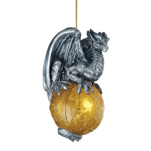 Design Toscano Protector of the Gothic Portal, Celtic Dragon 2010 Holiday Ornament