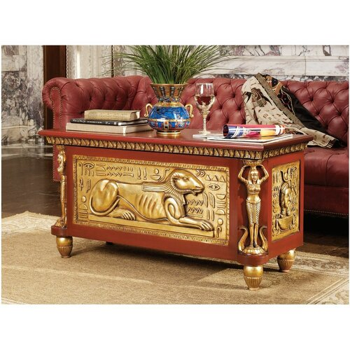 Design Toscano Egyptian Coffee Table