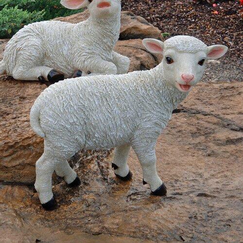 Design Toscano Yorkshire Standing Lamb Statue