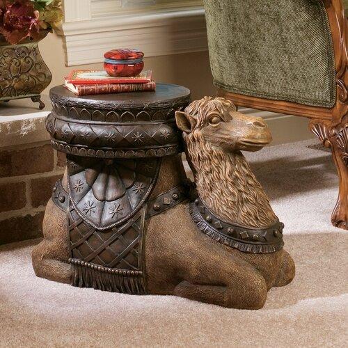 Design Toscano The Kasbah Camel Sculptural End Table