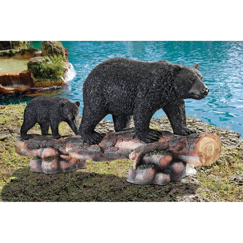 MoTher Bear and Cub Grand Scale Animal Statue