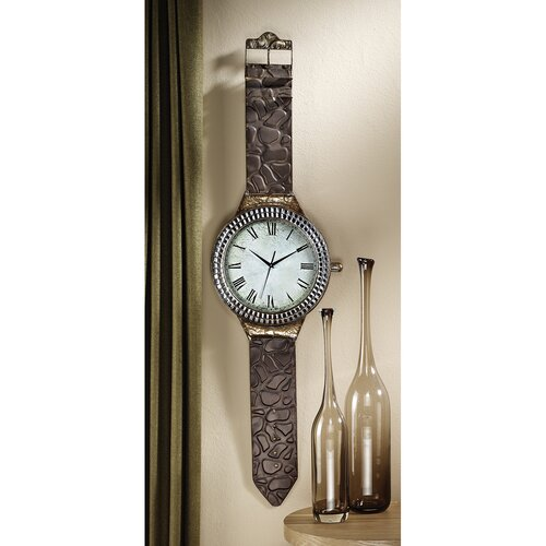 Design Toscano The Big Time Wrist Watch Wall Clock