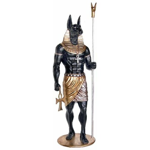 The Egyptian Grand Ruler Life-Size Anubis Statue