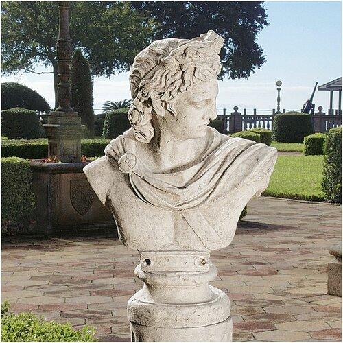 Design Toscano Apollo Belvedere Bust Statue