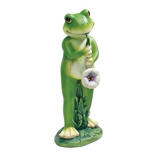 Garden Jazz Frog Musician Sax Frog Statue