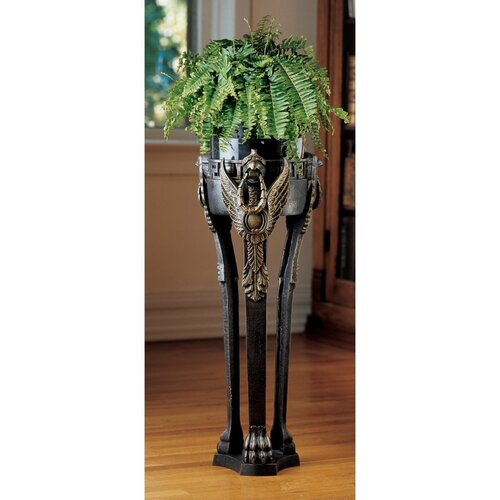French Neoclassical Griffin Pedestal Plant Stand