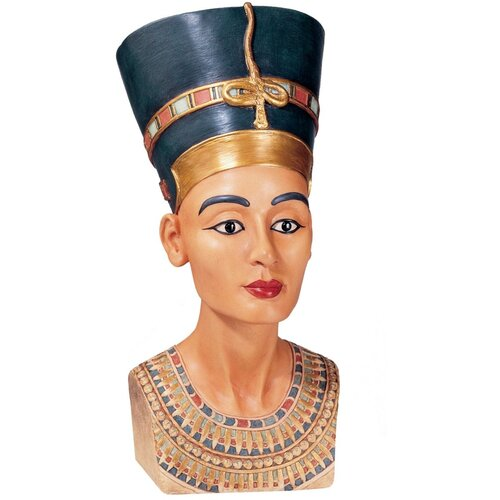 Design Toscano Tut and Nefertiti Queen Nefertiti Bust