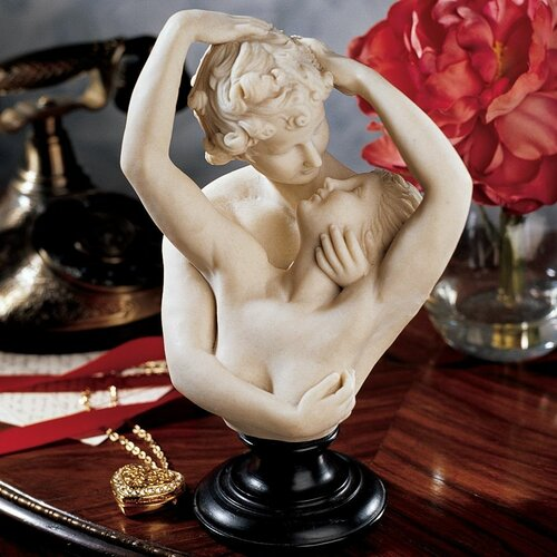 Design Toscano Cupid and Psyche Bust