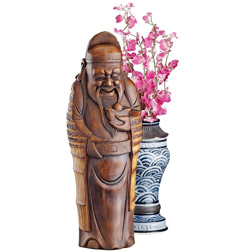 God of Good Fortune Figurine