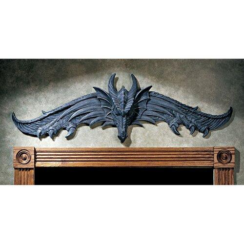 Design Toscano Hardwick Dragon Wall Décor