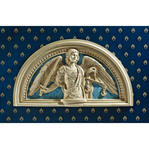 Design Toscano St Michael the Archangel Wall Décor