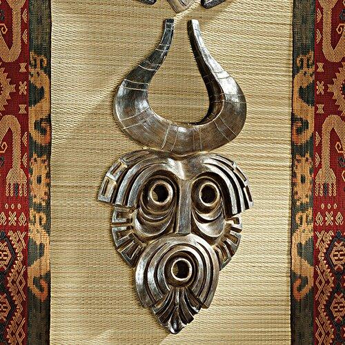 Design Toscano African Tribal Wall Mask Bamun Wall Décor