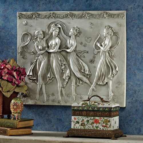 Design Toscano Three Graces Dancing Wall Décor
