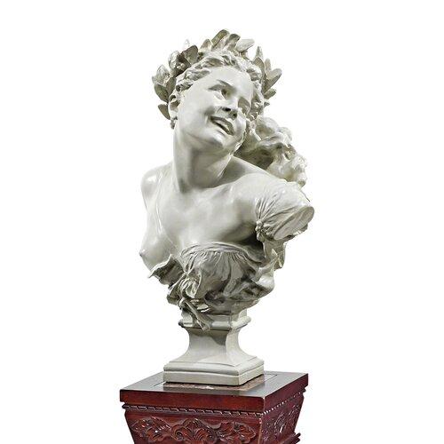 Design Toscano Mademoiselle de la Danse Bust