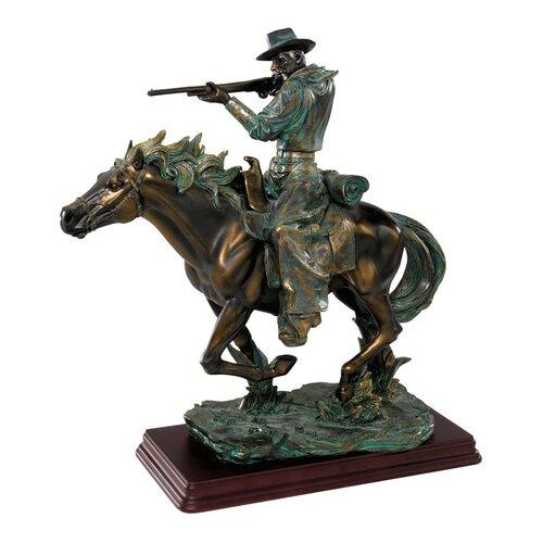 Design Toscano Wild West Sharp Shooter Figurine