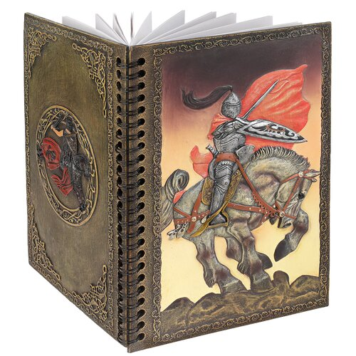 Design Toscano Knight's Valiant Battle Hardcover Journal