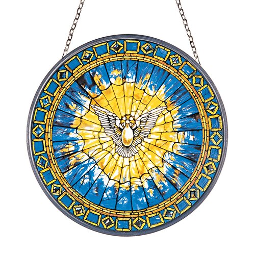 Design Toscano The Holy Spirit Replica Stained Glass Window