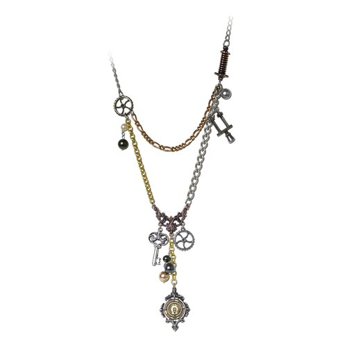 Design Toscano Laboratory Chaterlaine Gothic Necklace