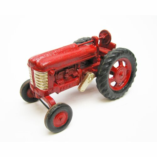 Big Red Replica Cast Iron Farm Toy Tractor Sculpture