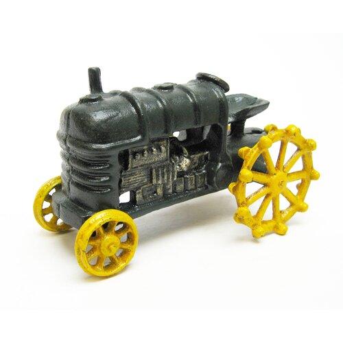 Design Toscano Farmstead Replica Farm Toy Tractor Figurine