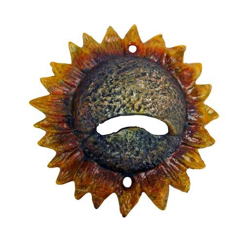 Design Toscano Sunny Sunflower Bottle Opener