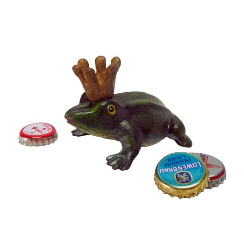Frog King Cast Iron Bottle Opener