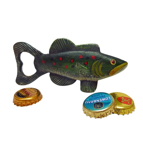 Trout Tales Cast Iron Bottle Opener