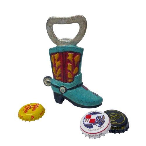 Western Cowboy Boot Bottle Opener