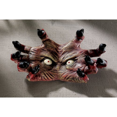 Design Toscano The Creepy Thing Wall Sculpture