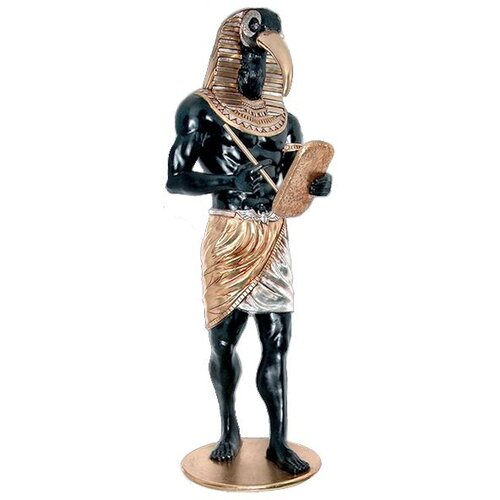 Design Toscano The Egyptian Grand Ruler Life - Size Thoth Statue