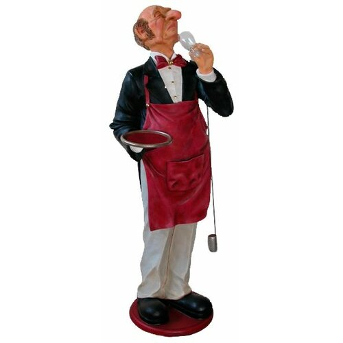Grand Sir Sommelier - Scale Wine Connoisseur Statue