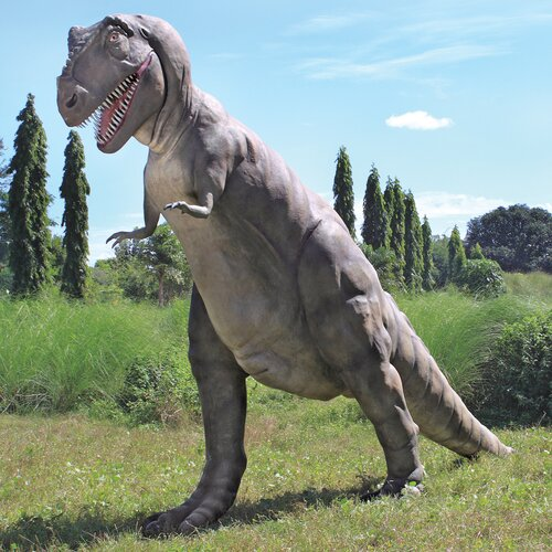 The Jurassic - Sized T-Rex Dinosaur Statue