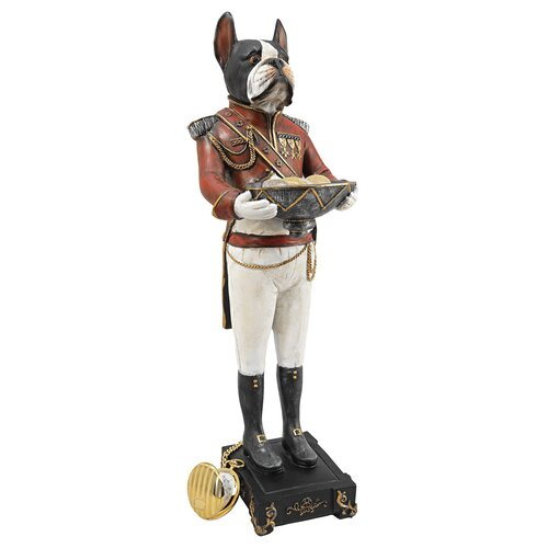 "Design Toscano ""General Gunther, British Bulldog"" Figurine"