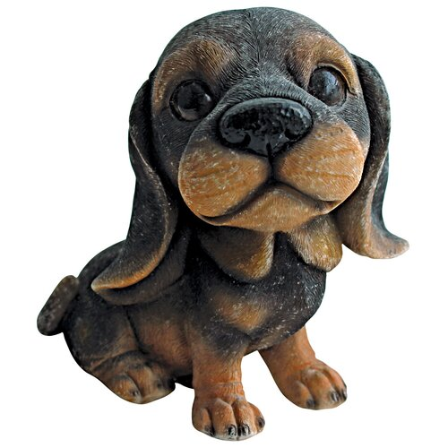 Prized Pup Rottweiler Puppy Dog Statue