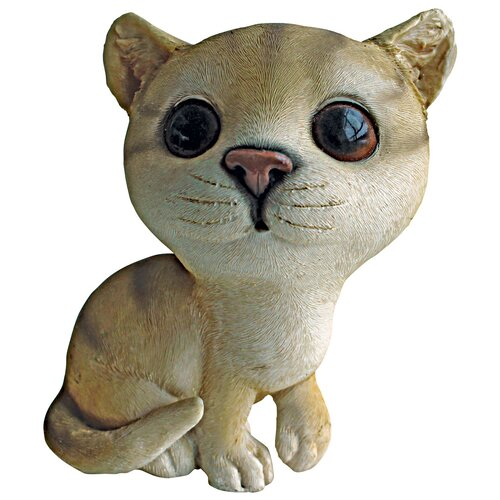 Cherished Cat Tabby Kitten Statue